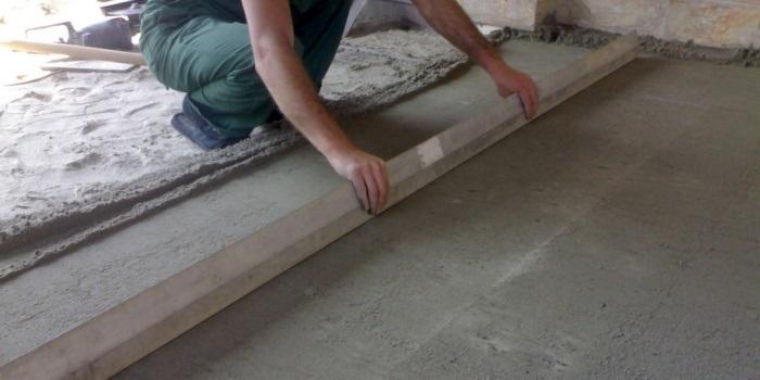 Неровности бетонного пола: как возникают и как выглядят